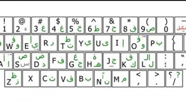 حروف انجليزي معرب كاملة موقع الخليج